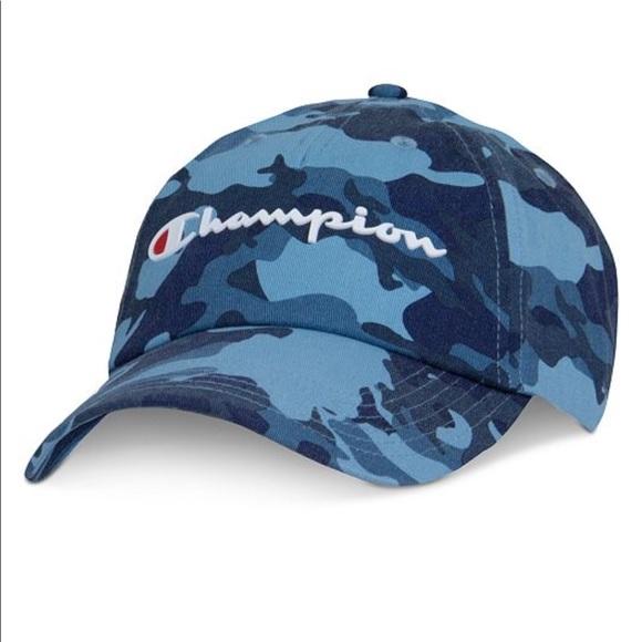 8b99a3c5c15 Champion blue Camo hat